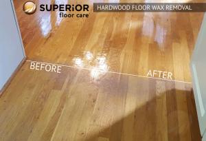 Hardwood Floor Wax Removal