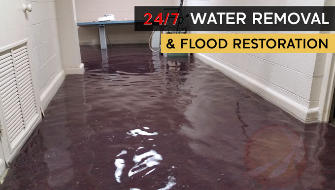 Flood Water Damage Restoration